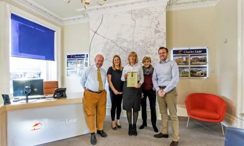 Charles Lear & Co. win International Property Award